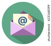 mail icon | Shutterstock .eps vector #623168399