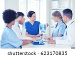 profession  people  surgery ... | Shutterstock . vector #623170835