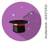 magic icon   Shutterstock .eps vector #623171921