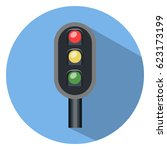 traffic icon   Shutterstock .eps vector #623173199