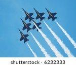 Blue Angel Planes Flying High