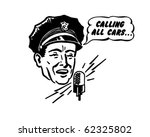 police dispatcher   retro... | Shutterstock .eps vector #62325802