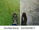 life balance concept for work... | Shutterstock . vector #623263817
