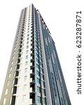 business skyscraper isolated on ... | Shutterstock . vector #623287871