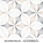 flower pattern vector ... | Shutterstock .eps vector #623288621