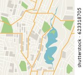 map populated area | Shutterstock .eps vector #623318705
