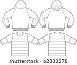 apparel templates   Shutterstock .eps vector #62333278