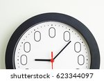Small photo of Clock Face To Illustrate Concept Of Zero Hour Employment Contracts
