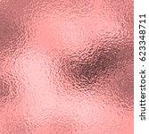 vector foil background. rose... | Shutterstock .eps vector #623348711