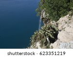 kaleici district and yivli... | Shutterstock . vector #623351219