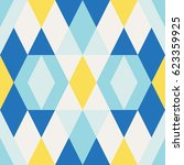 abstract geometrical pattern... | Shutterstock .eps vector #623359925