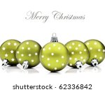 Colorful Green Christmas...