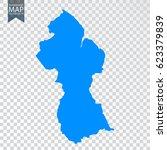 transparent   high detailed map ... | Shutterstock .eps vector #623379839