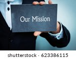 our mission | Shutterstock . vector #623386115
