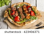 turkish and arabic traditional... | Shutterstock . vector #623406371