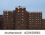 public housing in manhattan | Shutterstock . vector #623420081
