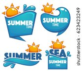 summer time  vector collection...