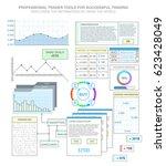 set graphs and charts....