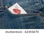 Detail Of A Denim Pocket...