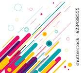 conceptual modern style...   Shutterstock .eps vector #623438555