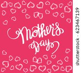 happy mother s day gift card...   Shutterstock .eps vector #623467139