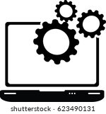 optimization icon | Shutterstock .eps vector #623490131