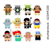 aboriginer,magnetic,karikatyr,pepparkakor,graciösa,gitarr,sjöjungfru,inbyggd,personnage,prinsessan,rappare,rocker,serie,enkel,enkelhet