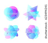 vector illustration of abstract ...   Shutterstock .eps vector #623494241