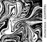 marble or ink liquid texture.... | Shutterstock .eps vector #623495981