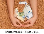 monetary crop as a symbol of... | Shutterstock . vector #62350111
