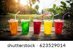 beautiful colorful selection of ... | Shutterstock . vector #623529014