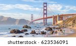 classic panoramic view of... | Shutterstock . vector #623536091