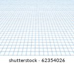 Smooth surface of a floor in the form of a tile - stock photo