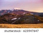A Beautiful Sunset on Mount Humphrey near Flagstaff, AZ.