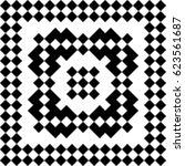 slavic embroidery motif. ethnic ... | Shutterstock .eps vector #623561687