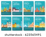 country of egypt  austria ... | Shutterstock .eps vector #623565491