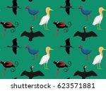 random australian birds... | Shutterstock .eps vector #623571881
