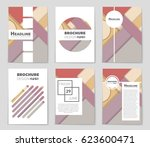 abstract vector layout... | Shutterstock .eps vector #623600471