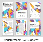 abstract vector layout... | Shutterstock .eps vector #623606999