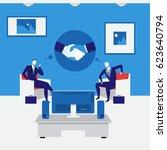 vector illustration of business ...   Shutterstock .eps vector #623640794