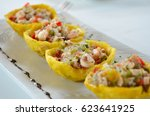 Tostones Cup  Made Of Fried...