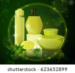 collection of premium brand of... | Shutterstock .eps vector #623652899