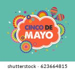 cinco de mayo   may 5  federal... | Shutterstock .eps vector #623664815