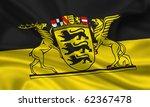 fahne flagge baden w   ... | Shutterstock . vector #62367478