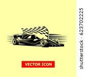 sport car illustration vector... | Shutterstock .eps vector #623702225