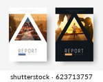 template of universal covers... | Shutterstock .eps vector #623713757