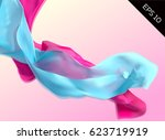 abstract illustration with... | Shutterstock .eps vector #623719919