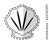 conch or shell icon image    Shutterstock .eps vector #623762399