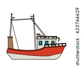 ship icon image  | Shutterstock .eps vector #623766629