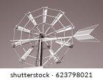 blue and white windmill  ibiza  ...